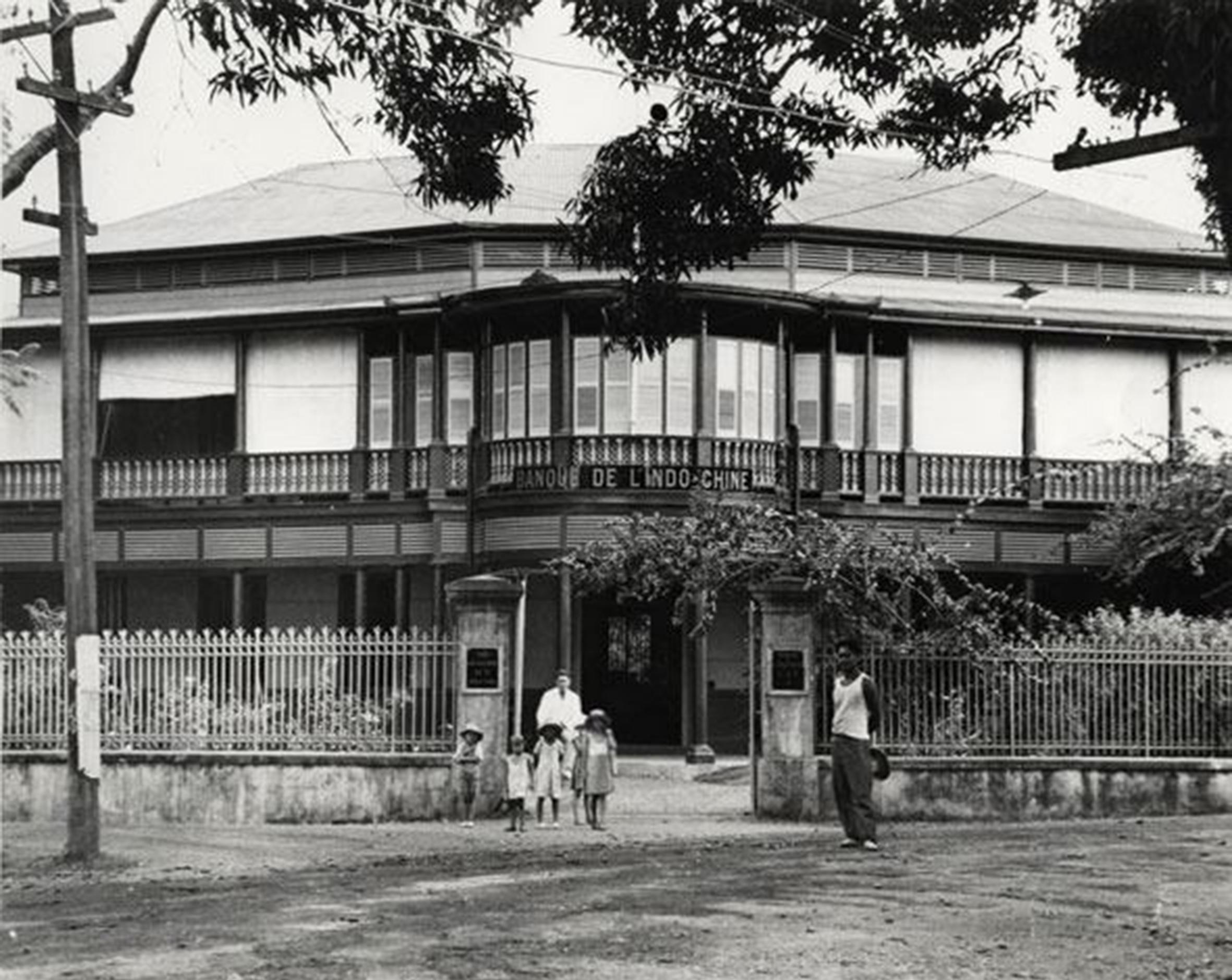La banque d'Indochine en 1940