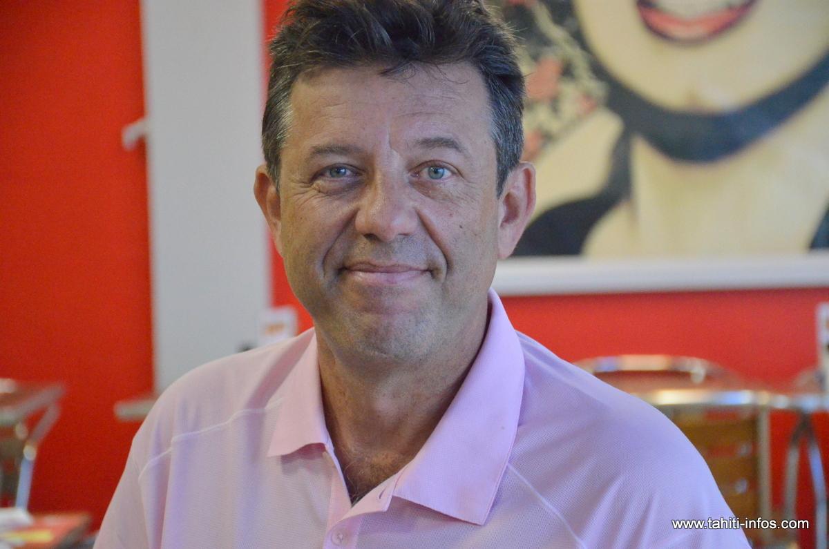Christophe Plee, président de la représentation locale de la CGPME.
