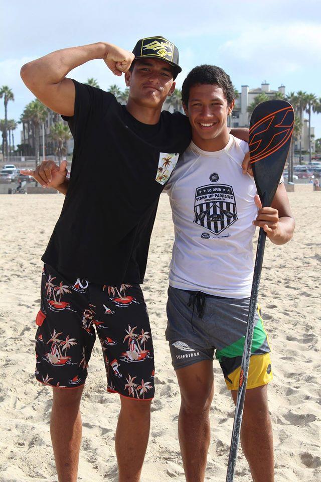 Nainoa et Poenaiki, nos deux prodiges du Sup Surf (archives 2015)