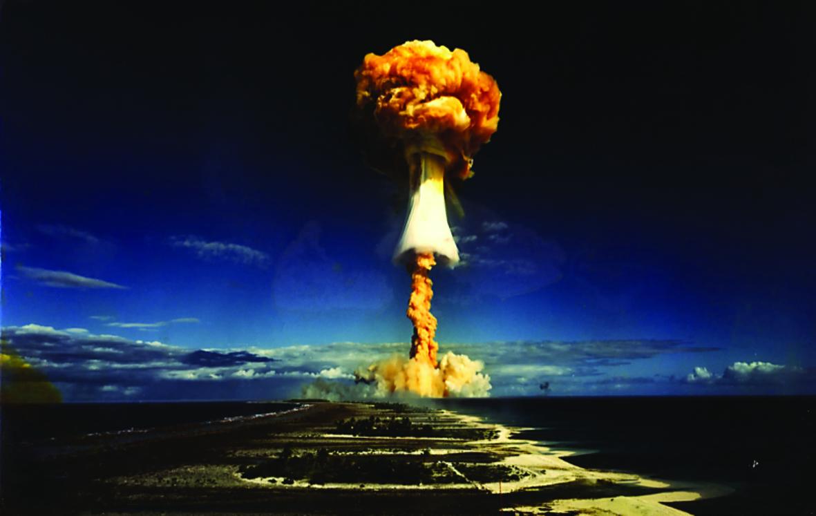"""""""Les champignons de Paris"""", la création originale de la Compagnie du Caméléon aura pour thème les essais nucléaires."""