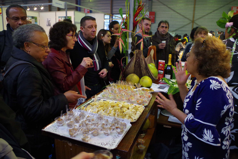Salon de la gastronomie bilan tr s positif pour la d l gation de la polyn sie fran aise - Salon de la gastronomie paris ...