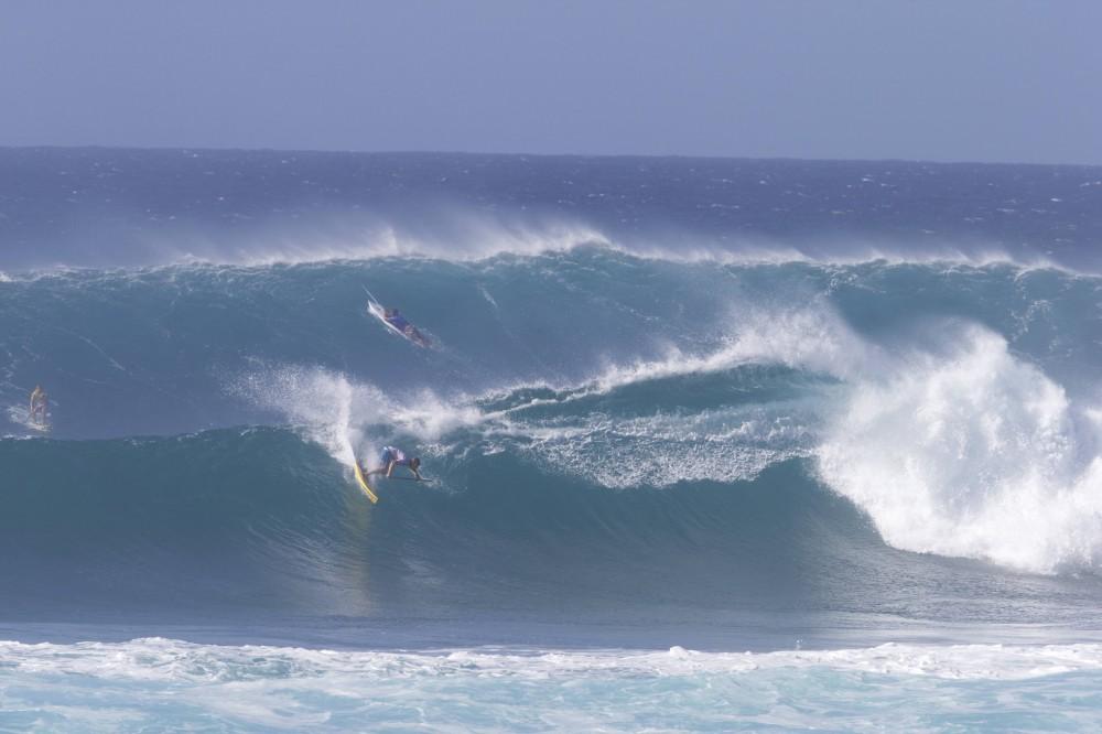 Sunset Beach a proposé des vagues imposantes tout au long de la compétition