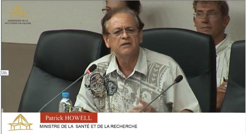 Les élus de l'assemblée de la Polynésie ont discuté en détail ce mardi à la fois des orientations stratégiques pour la santé et du schéma d'organisation sanitaire. Patrick Howell a dû défendre ses textes tout seul à la tribune de Taraho'i.