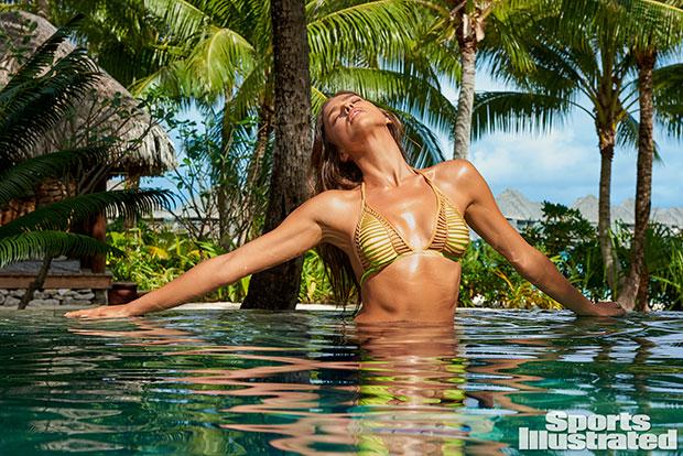 Les photos de la belle Gigi Hadid au fenua
