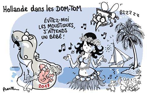 La visite de François Hollande sous le crayon de Plantu