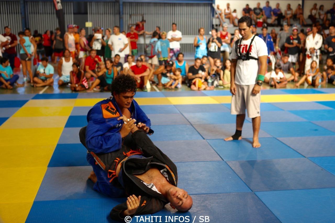 Tehau Bennett, n°1 de la catégorie - de 100kg