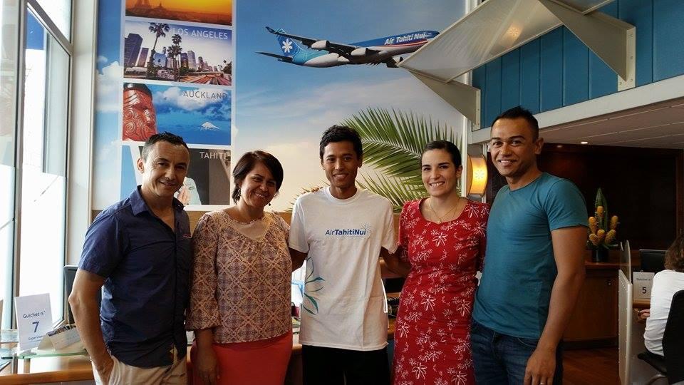ATN ambassador : Cédric Wane, un ambassadeur de choix pour AirTahitiNui