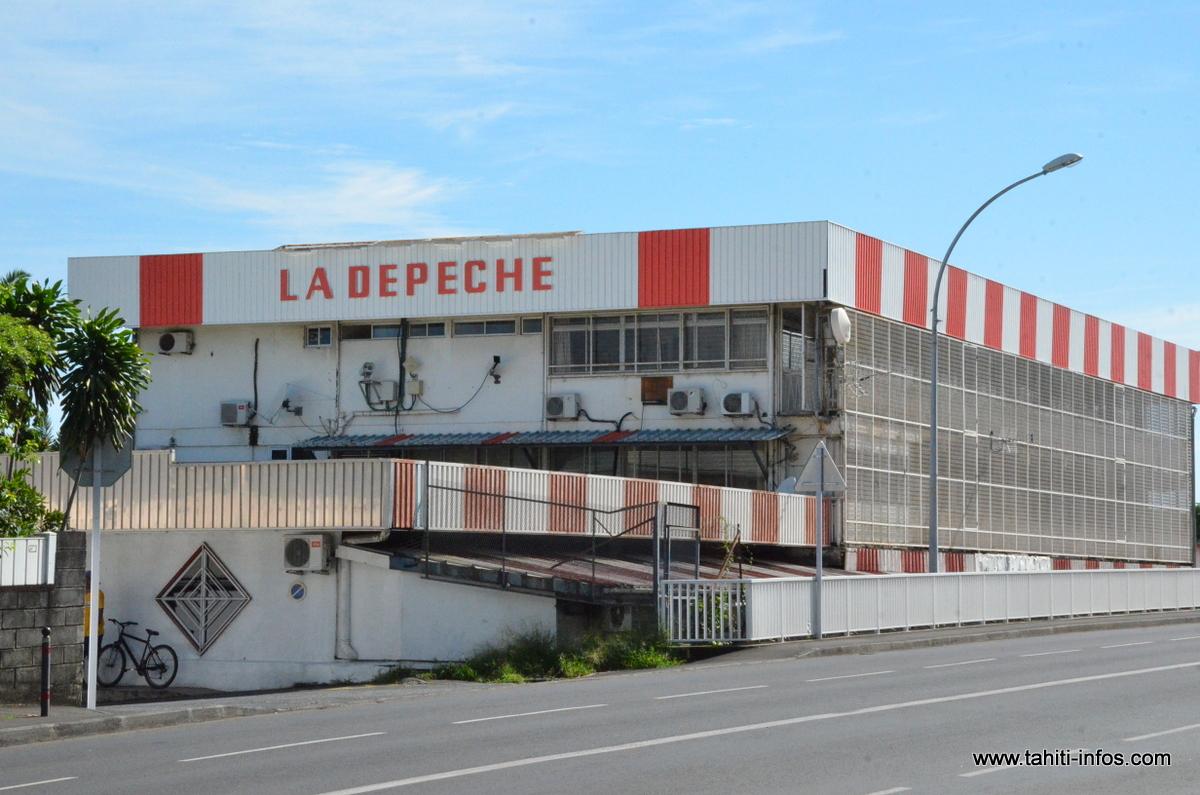 Dépêche de Tahiti : l'édition de jeudi menacée par la grève