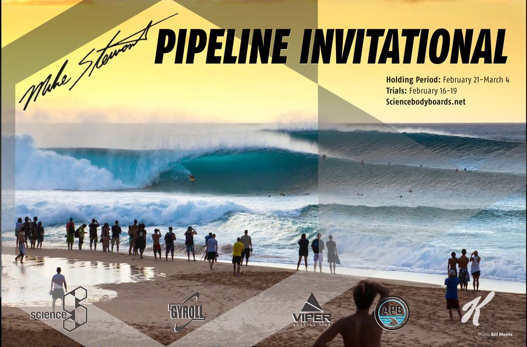 5 Tahitiens ont été invités pour surfer le spot de Banzaï Pipeline