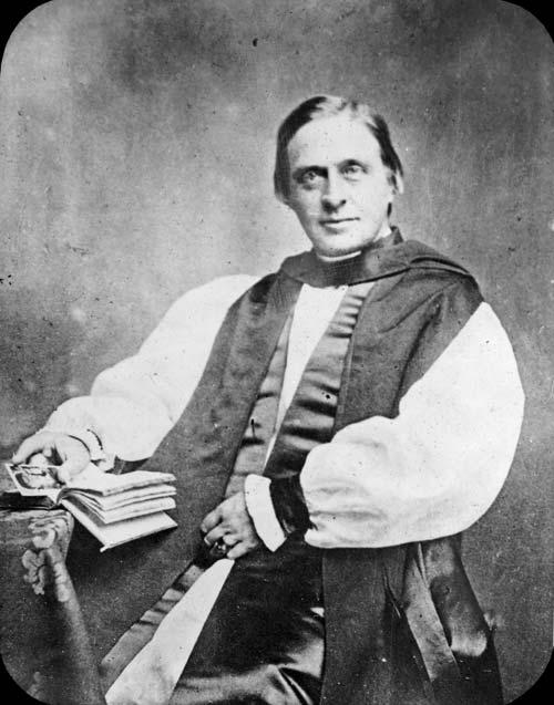 Un des portraits de John Coleridge Patteson, alors missionnaire zélé en Mélanésie.