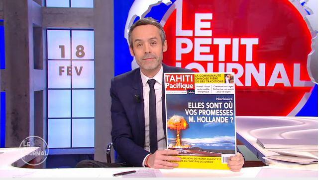 Le voyage de François Hollande à Tahiti vu par le Petit Journal
