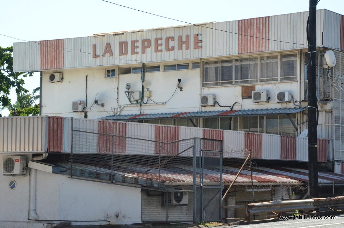 Fin de grève à la Dépêche de Tahiti