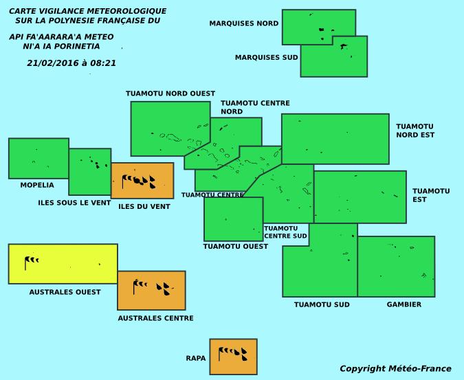 Météo: A 8h21, les îles du vent repassent en vigilance orange