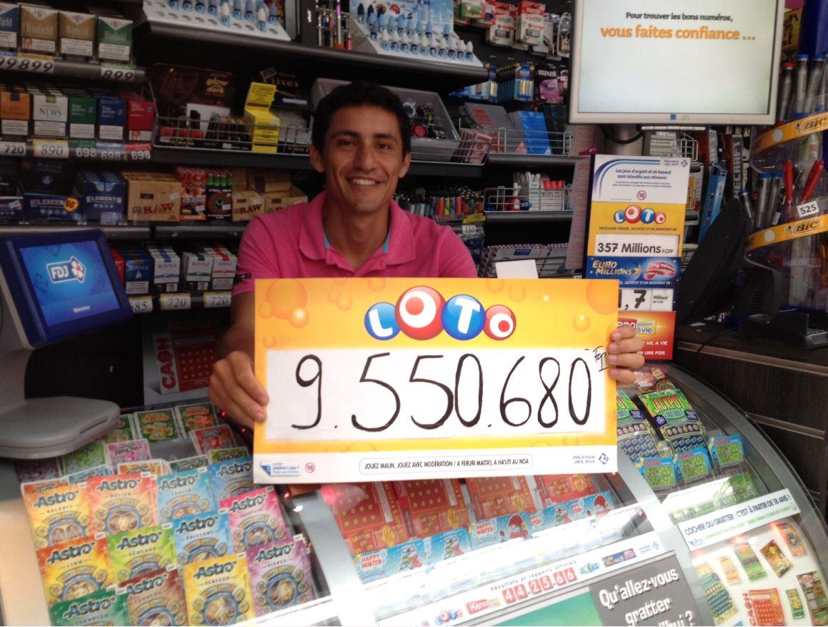 Un couple de retraités trouve 5 bons numéros au Loto® et empoche 9.550.680 F !
