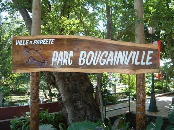 Papeete : bagarre entre sans domicile fixe parc Bougainville