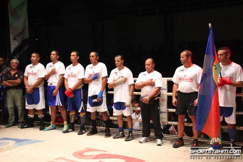 La sélection calédonienne était sur le ring de Fautaua lors du sportstahiti.com boxing tournament en Avril 2015