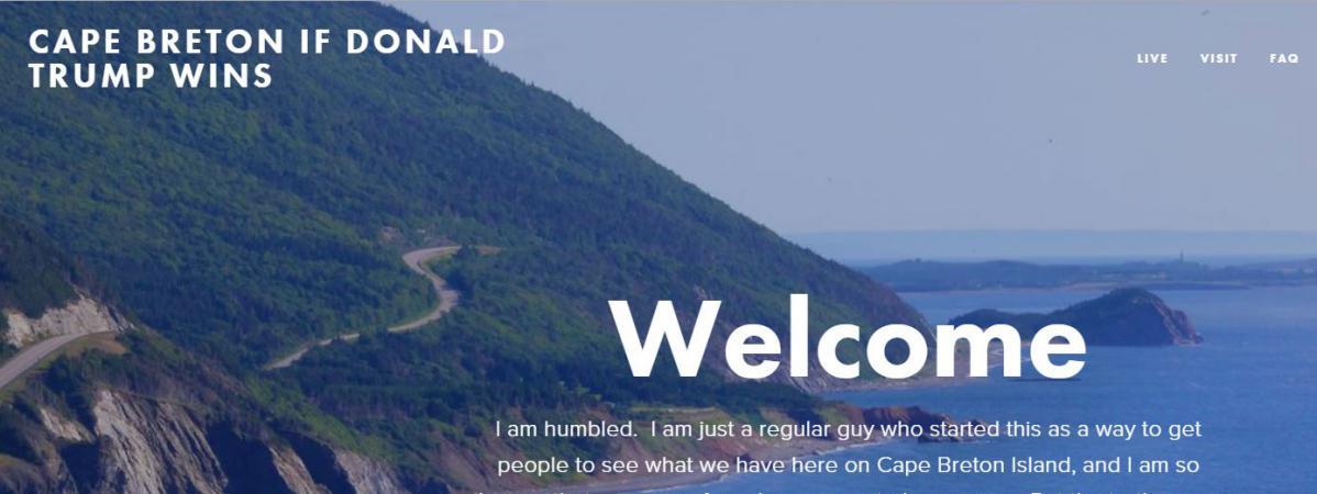 Une île canadienne propose d'accueillir des Américains anti-Trump