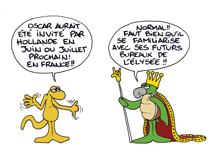"""""""Oscar à Paris?"""" par Munoz"""