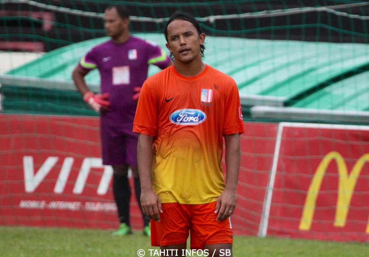 Marama Vahirua tente de transmettre son expérience de joueur professionnel