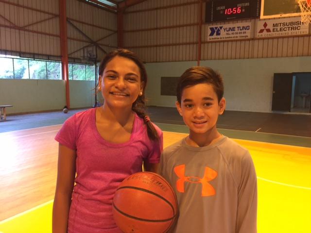 Basket-Ball : Kirarahu Williams et Joaquìn Varney, ambassadeurs de la Polynésie Française