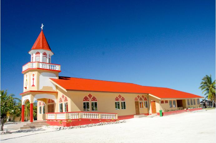 Eglise Sainte-Marie Madeleine de Faaite, Tuamotu