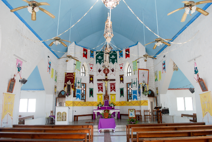 Eglise Saint-Marc de Kauehi, Tuamotu