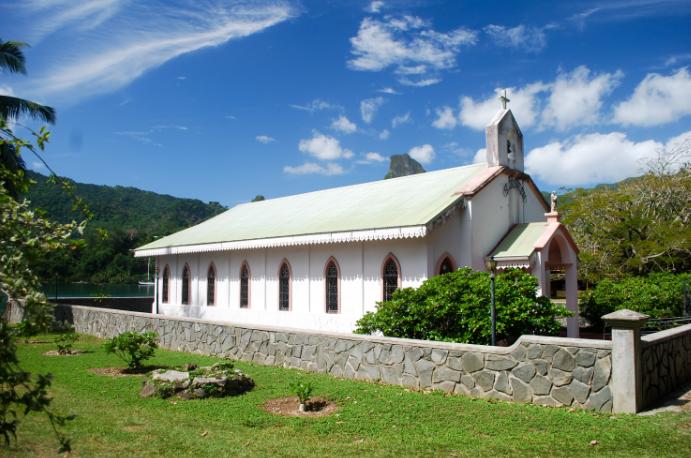 Eglise Saint-Joseph de Paopao à Moorea