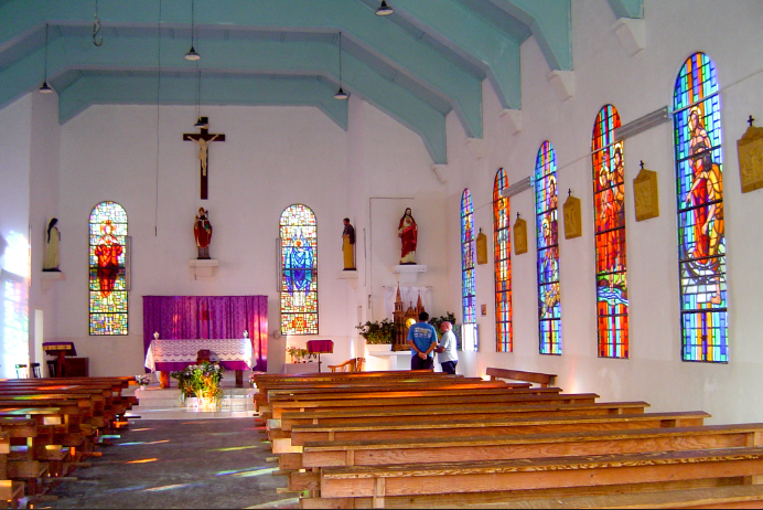 Eglise Saint Augustin de Reao, Tuamotu
