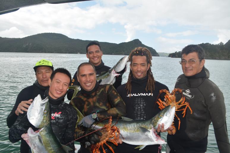 Pêche sous marine : La team tahiti affine sa préparation pour le tournoi océania