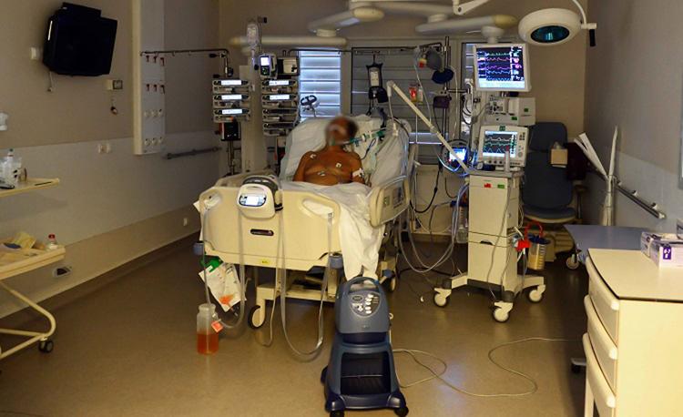 Un malade hospitalisé en 2014 au service réanimation du CHPF en raison d'un syndrome de Guillain-Barré.