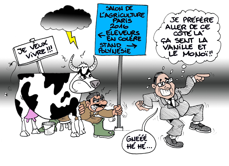 """""""Salon de l'agriculture"""" par Munoz"""