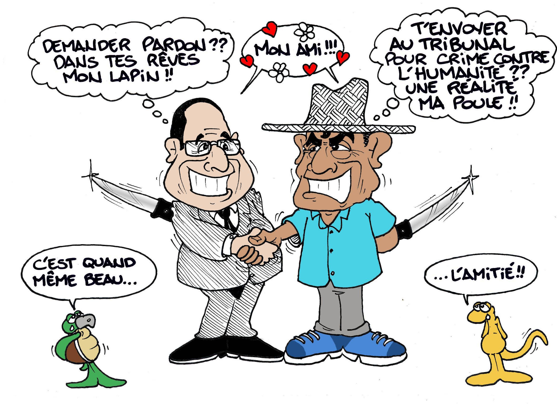 """""""C'est beau l'amitié"""" par Munoz"""