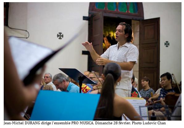 Pro Musica a donné deux concerts  baroques très applaudis à la cathédrale de Papeete