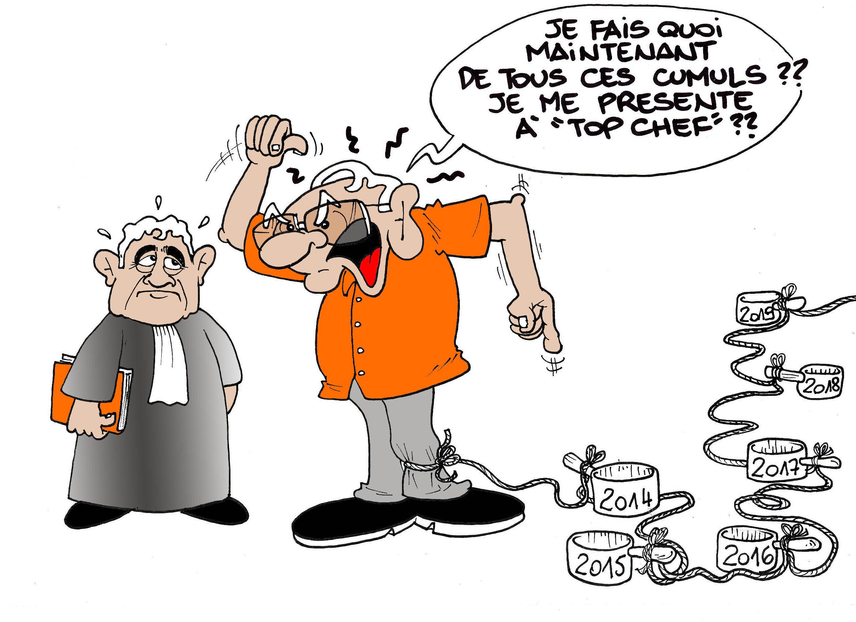 """""""Les casseroles de Flosse"""" par Munoz"""