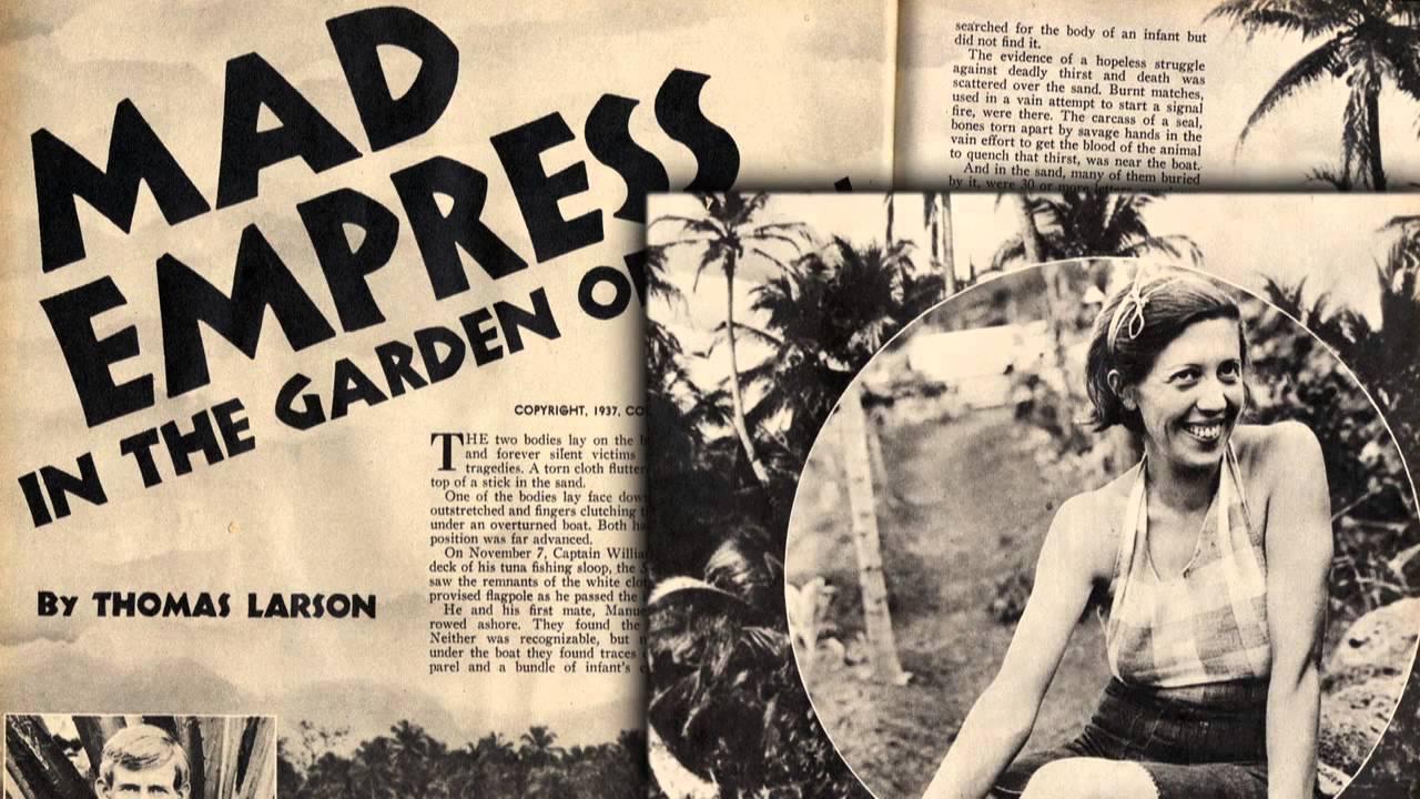 La presse, dans les années trente, écrivit un peu tout et n'importe quoi sur les aventures -vraies ou supposées- de la baronne et après sa mort, ce fut pire encore.