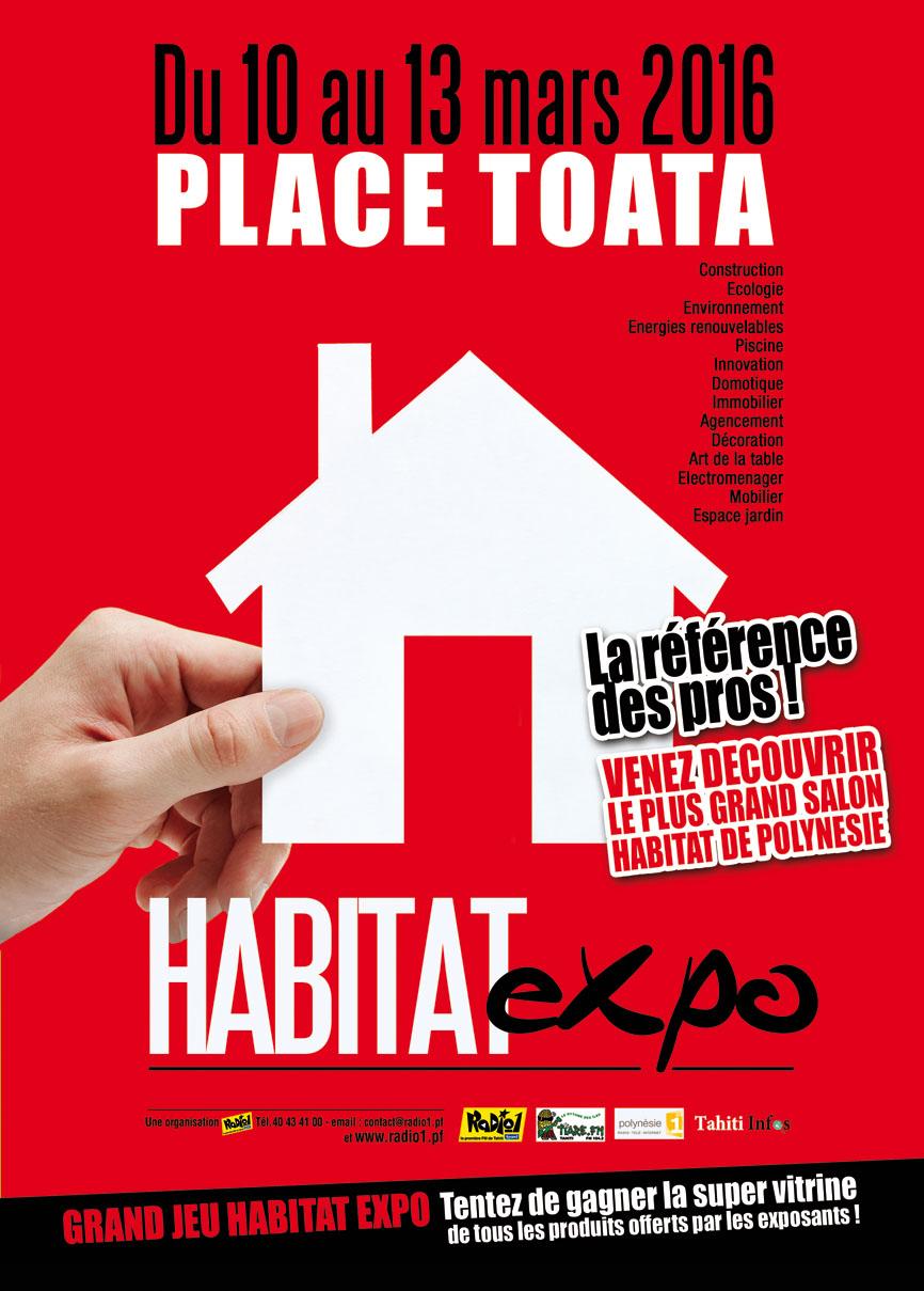 Le salon Habitat Expo ouvre ses portes du 10 au 13 mars