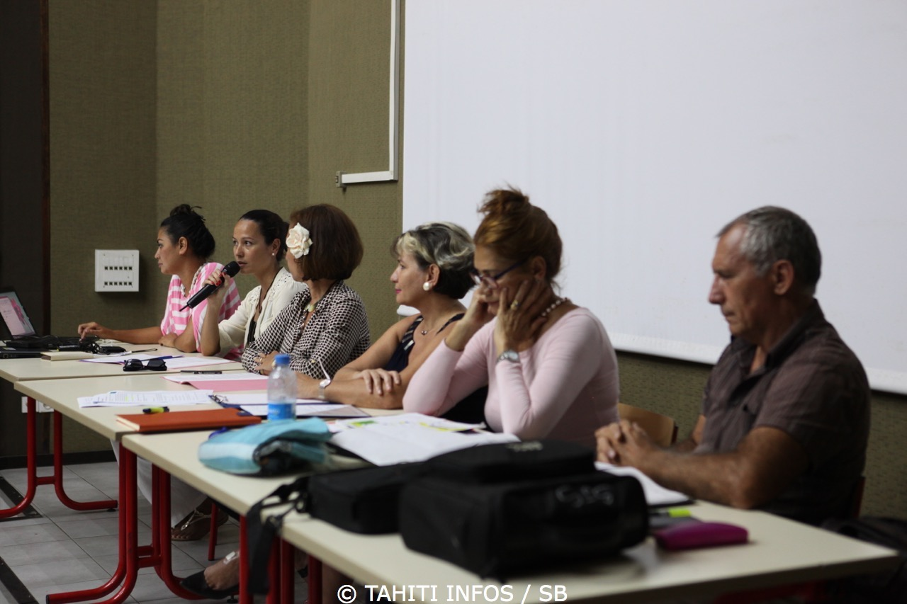 Cécile Tiatia, conseillère technique auprès du Ministère, était également présente pour répondre aux questions