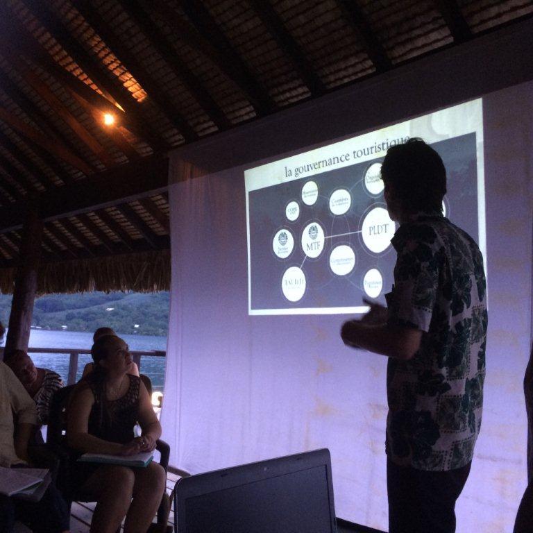 La réunion vendredi dernier à Moorea a permis au ministère du tourisme de présenter sa stratégie de développement aux professionnels de l'île.
