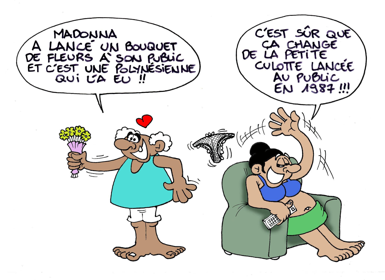 """""""Le bouquet de fleurs de Madonna"""" par Munoz"""