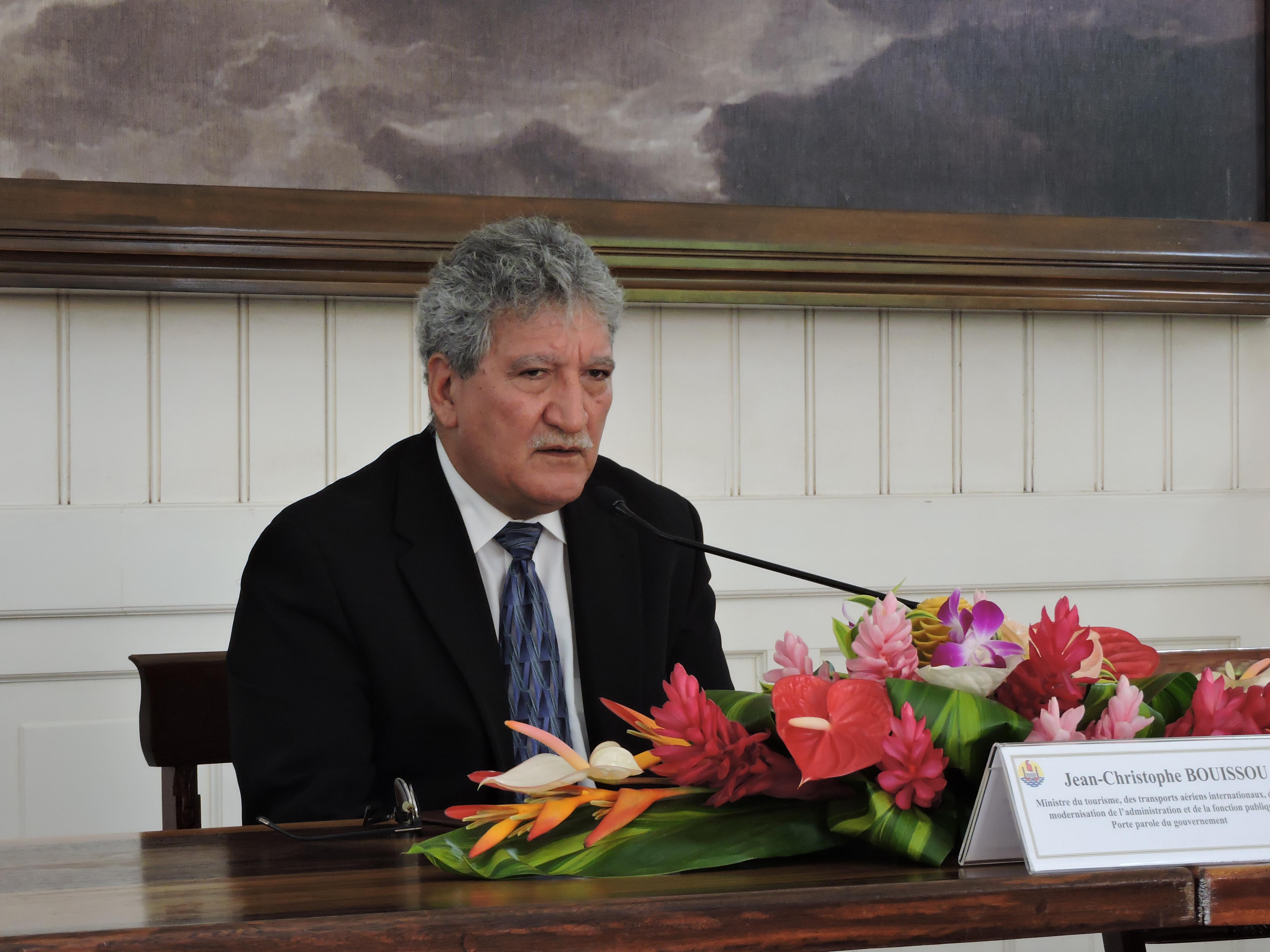 """""""Nous prenons nos responsabilités au niveau du GIE Tahiti Tourisme. Son rôle est de représenter tous les prestataires"""", a souligné hier Jean-Christophe Bouissou."""