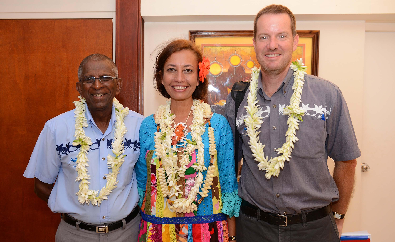 Le Conseil des Jeux du Pacifique reçu au ministère de l'Education et des Sports