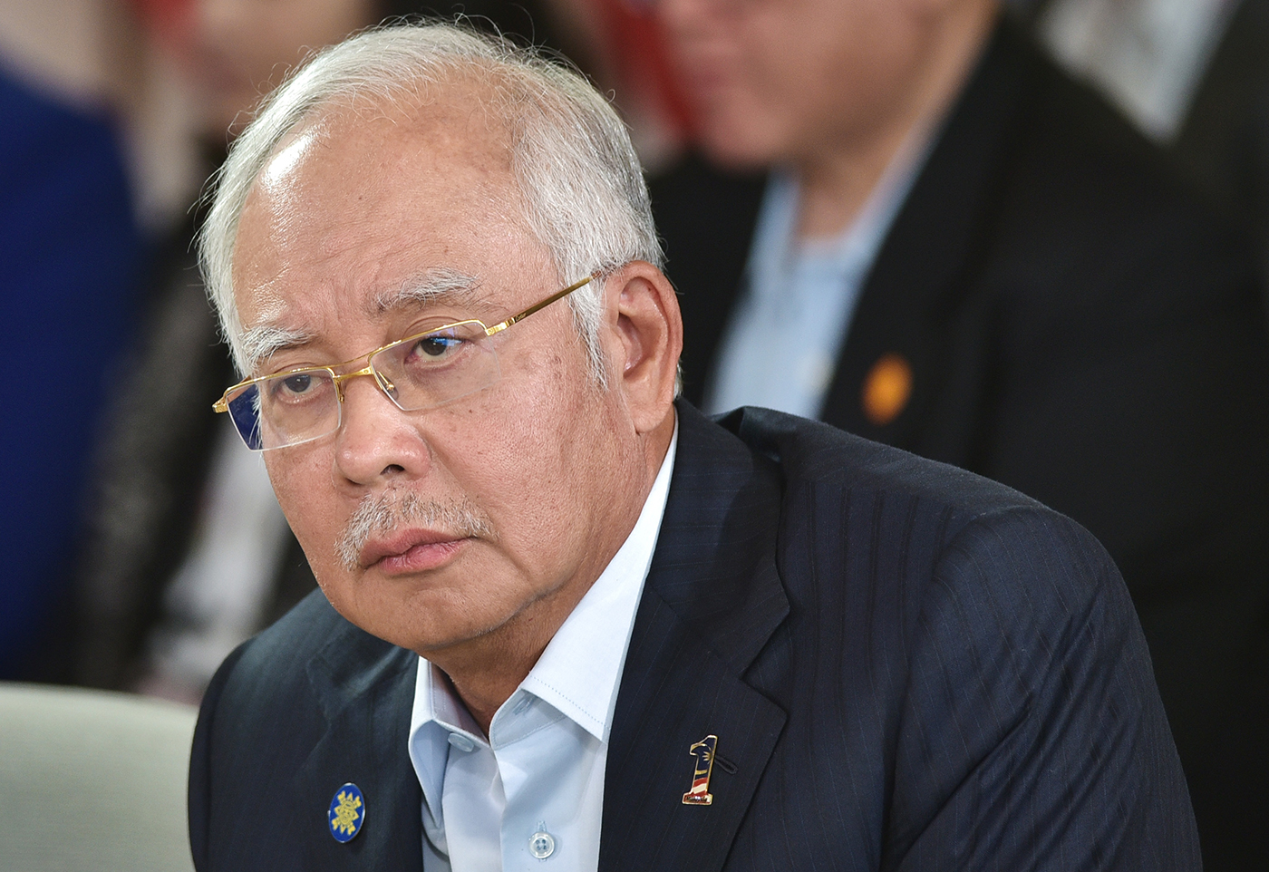 le Premier ministre Najib Razak.