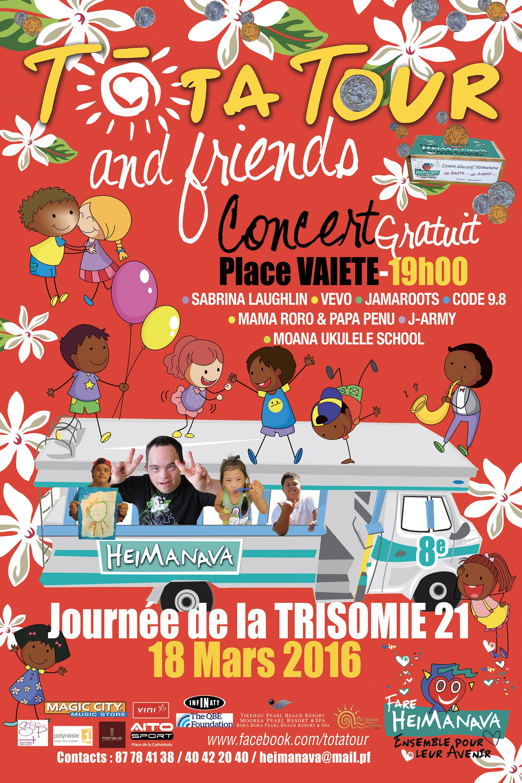 Page enfant : Participez au Tota Tour avec les enfants du centre Papa Nui