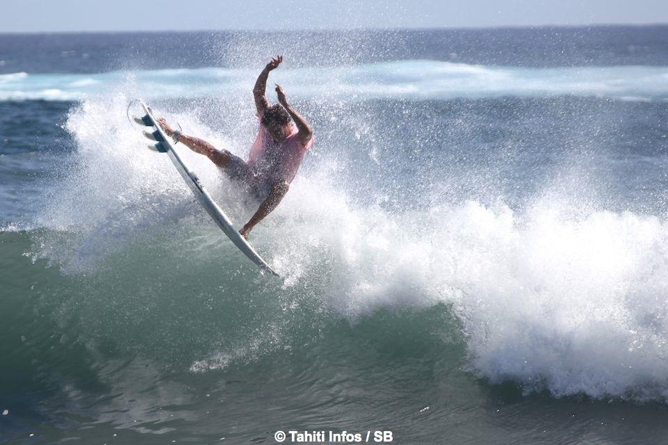 Enrique Ariitu, le meilleur Tahitien de la compétition