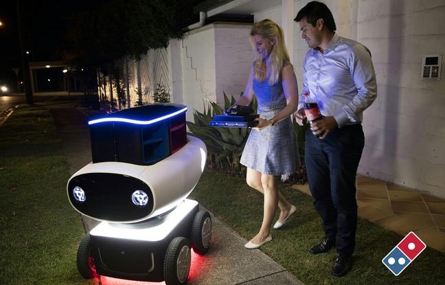 Domino's va tester un robot livreur de pizzas en Nouvelle-Zélande