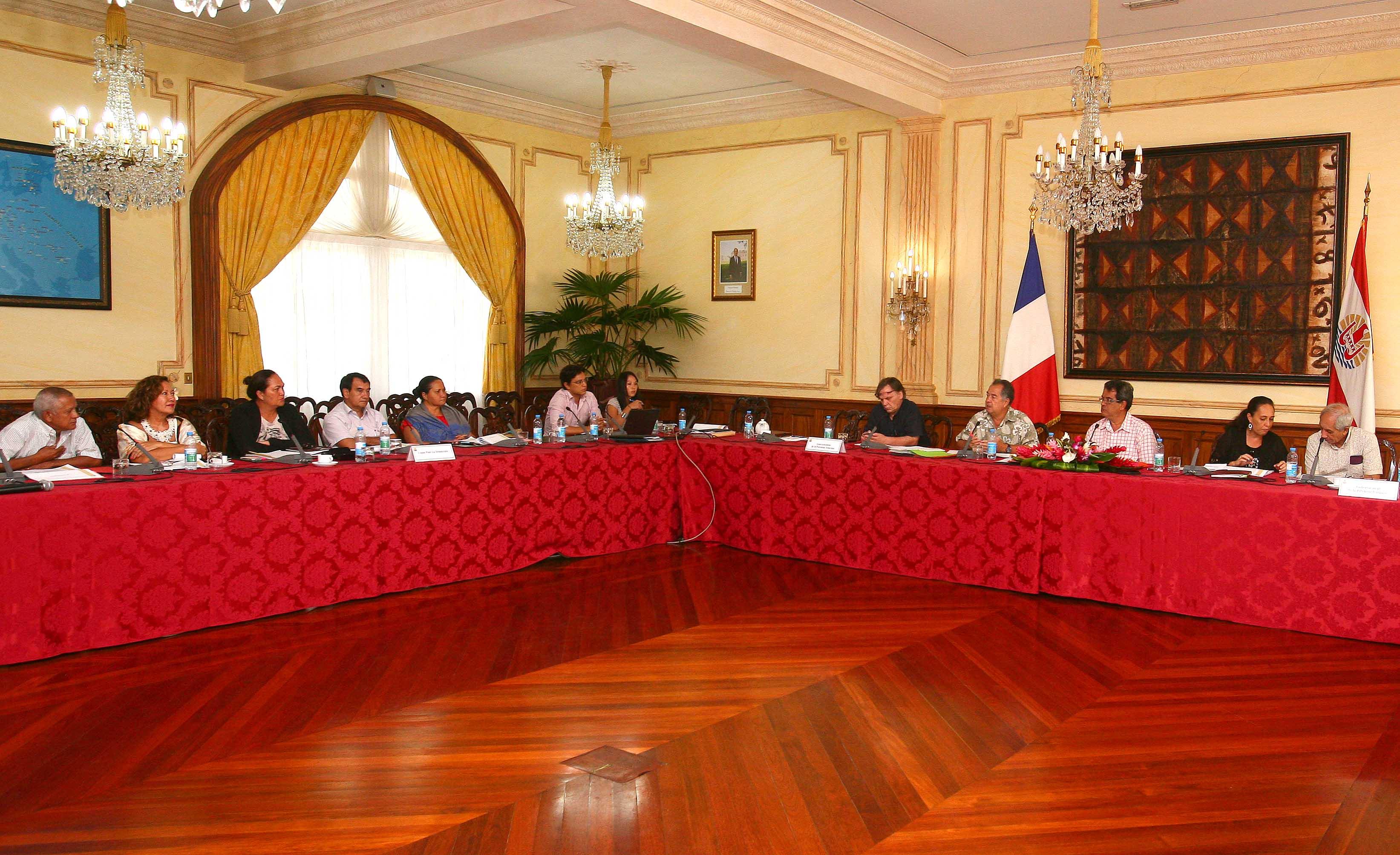 Consultation du Tahoeraa et de l'UPLD sur la réforme de la PSG