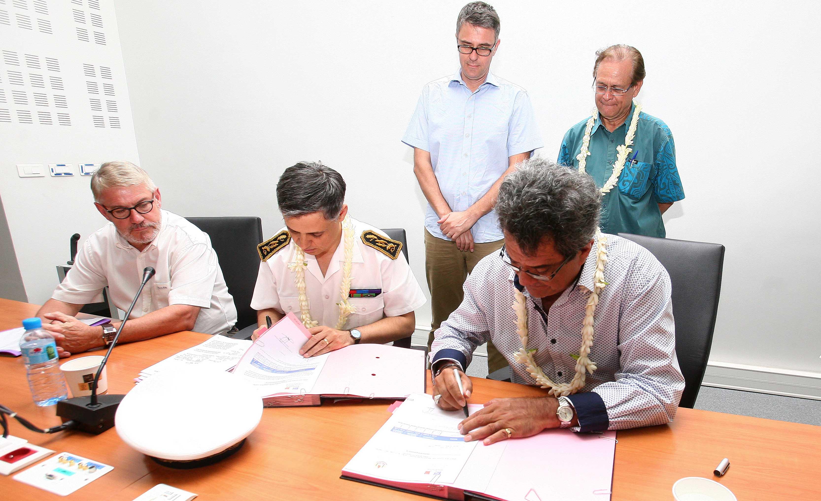 Les travaux aux collèges de Hao et Rangiroa pourront commencer rapidement