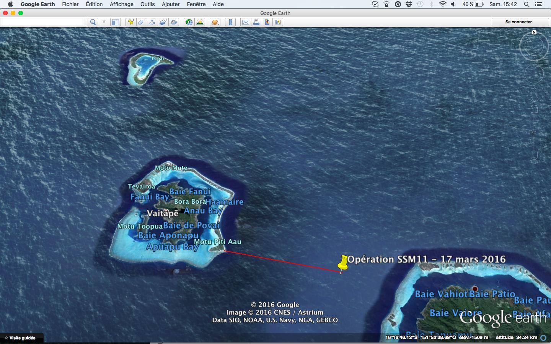 Bora Bora : un poti marara, en panne de moteur, secouru