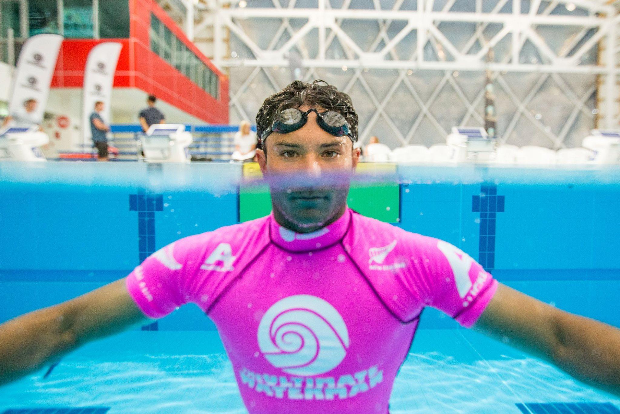 Danny Ching a su utiliser des qualités de nageur acquises à l'université © Scott Sinton