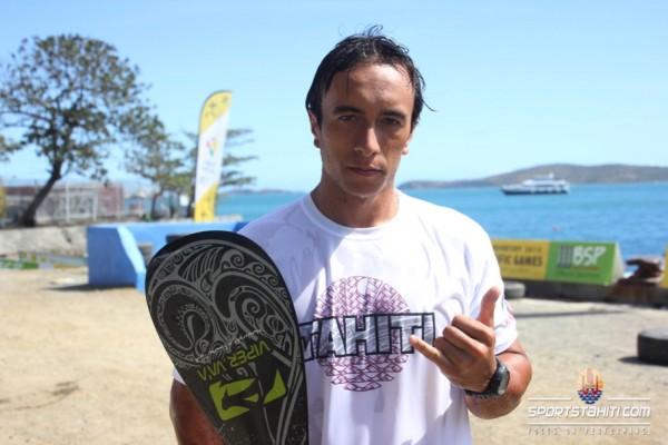 Va'a : Tuatini Makiroto, « après l'or aux Jeux du Pacifique, je veux être champion du monde »